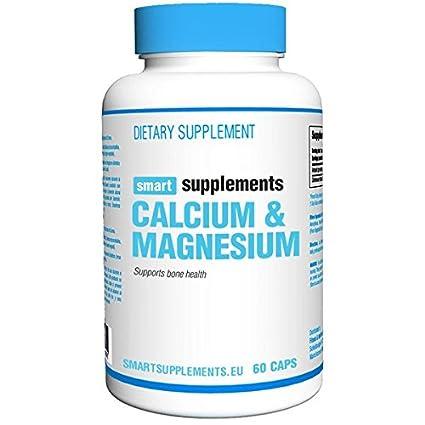 Smart Supplements Calcio Magnesio Suplemento - 60 Cápsulas