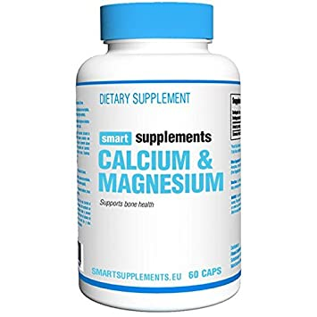 Smart Supplements Calcio Magnesio Suplemento - 60 Cápsulas: Amazon.es: Salud y cuidado personal