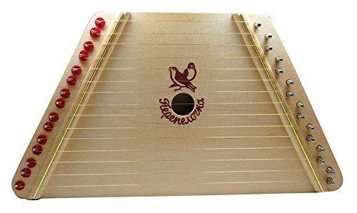 European Expressions Music Maker-Hand Made Lap Harp - Easy to Play Musical Instrument