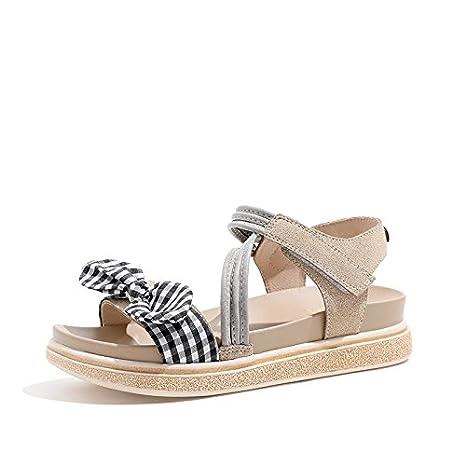 YMFIE Sandali estivi per donna, comodi e alla moda, sandali esterni antiscivolo da donna, 37 EU