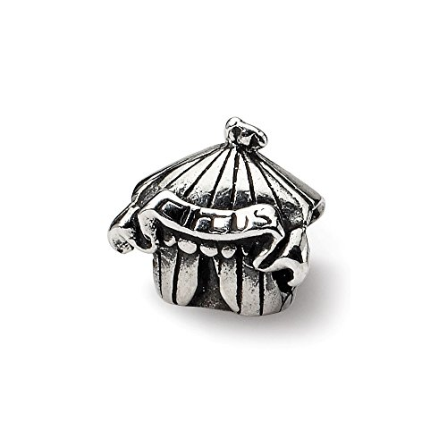 925 Sterling Silver Charm For Bracelet Kids Circus Tent Bead Kid Line Fine Jewelry Gifts For Women For Her