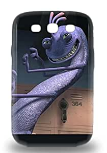 Hard Plastic Galaxy S3 3D PC Case Back Cover Hot American Randall Boggs Monsters University The Monsters University Freshman 3D PC Case At Perfect Diy ( Custom Picture iPhone 6, iPhone 6 PLUS, iPhone 5, iPhone 5S, iPhone 5C, iPhone 4, iPhone 4S,Galaxy S6,Galaxy S5,Galaxy S4,Galaxy S3,Note 3,iPad Mini-Mini 2,iPad Air )