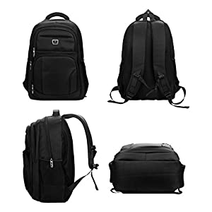 Laptop Backpack, Water-resistent Business Loop Backpack, 16 Inch Backpack
