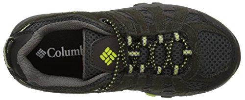 Columbia CHILDRENS REDMOND EXPLORE WATERPROOF - zapatillas de trekking y senderismo de piel Niños^Niñas Gris Grau (Shale 051)