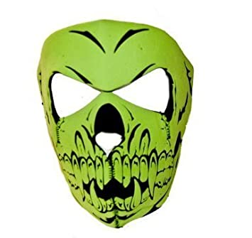 Amazon.com : Full Face Neoprene Skull Ninja Mask - 2 Colors ...