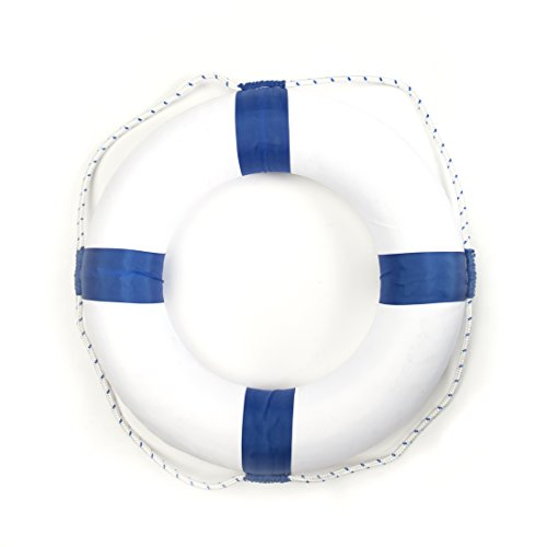 Foam Ring Buoy Swimming Pool Safety Life Preserver W/nylon cover - Child (Safety Buoys)