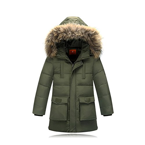 ibaste daunenjacke kinder jungen m dchen winterjacke mit. Black Bedroom Furniture Sets. Home Design Ideas
