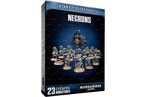 Start Collecting! Necrons Warhammer 40,000 (Best Starter Army Warhammer 40k)