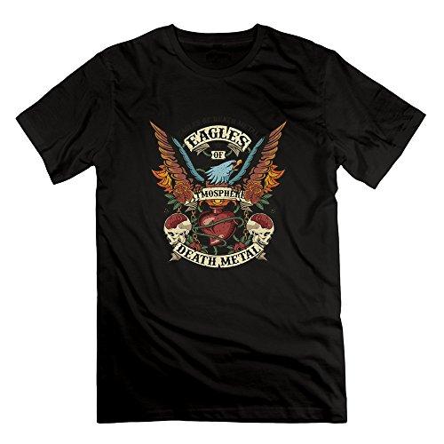 Cincinnati Bengals Heart - DOSTK Mens Eagles Of Death Metal Printing T-shirts Black