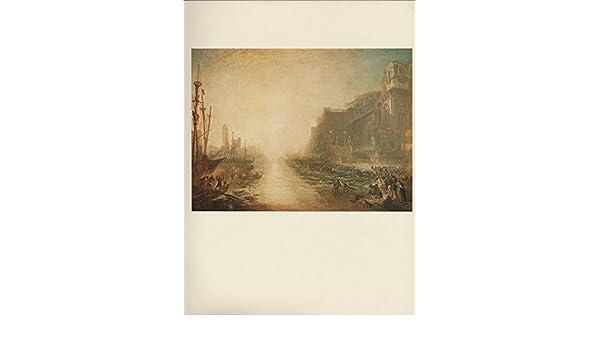 "1976 Vintage TURNER /""REGULUS/"" ROME FAMOUS TIPPED COLOR Art Print Lithograph"