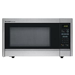 Sharp R-331ZS Microwave (1.1 cu.ft.), Stainless Steel, Standard