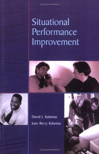 Read Online Situational Performance Improvement pdf epub