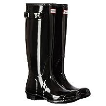 Hunter Women's Bota Original Tall Knee-High Rubber Rain Boot