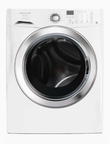 UPC 012505382284, Frigidaire FAFS4474LW Front Load Steam Washer, 3.81 Cubic Ft, Classic White