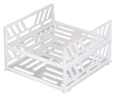 Stackable Freezer Shelves Set of 2 By Jumbl