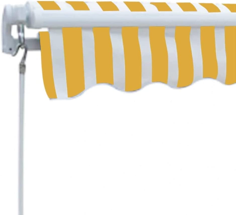 Tenda da Sole Avvolgibile a Parete Tenda Pieghevole 300 cm Crema Festnight Tenda da Sole Pieghevole Manuale