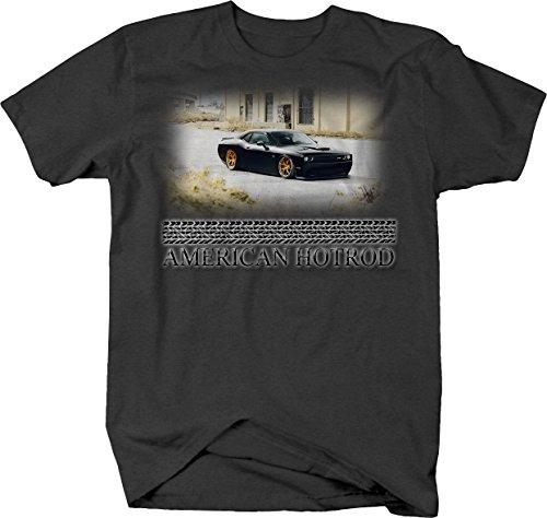 (American Hotrod Dodge Mopar SRT Challenger Racing Custom Tshirt -)
