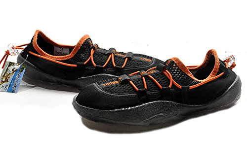 Tosbuy Women's Slip on Water Shoes,beach Aqua,hiking,surfing,running Sneakers (Eu40) Black