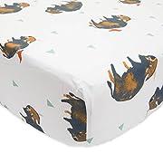 Little Unicorn PerCale Crib Sheet - Bison