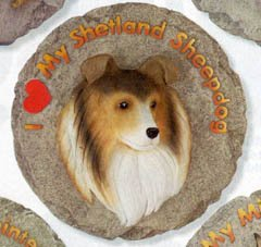 Sheepdog 2010 Calendar - Sheltie Shetland Sheepdog Garden Stepping Stone