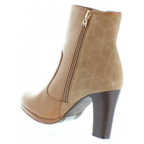 Maria Mare Stiefel Für Damen 61199 NAPAL Taupe Schuhgröße 40