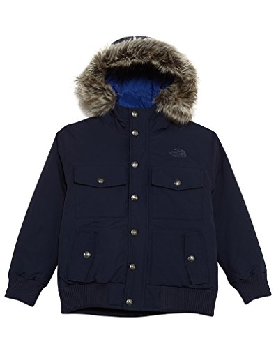 The North Face Big Girls' Gotham Down Jacket - cosmic blue, l/14-16 by The North Face