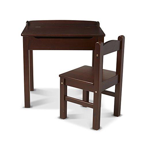 Melissa & Doug Desk & Chair - Espresso Children's Furniture