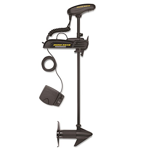Minn Kota 1358737 Powerdrive 55_BT Trolling Motor with Bluetooth (55-lb Thrust, 54
