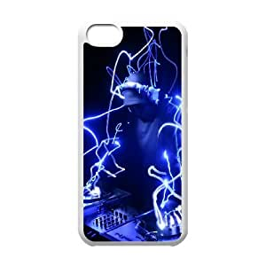 Dj iPhone 5c Cell Phone Case White gift pjz003-9408718