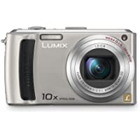 Panasonic Lumix DMC-TZ50S 9.1MP Digital Camera with 10x Wide Angle MEGA Optical Image Stabilized Zoom with wi-fi (Silver) Basic Facts Review Image