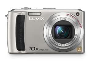 Panasonic Lumix DMC-TZ50S 9.1MP Digital Camera with 10x Wide Angle MEGA Optical Image Stabilized Zoom with wi-fi (Silver)