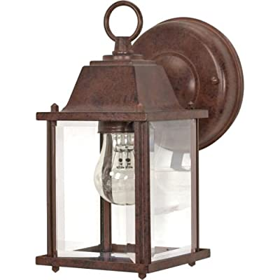 Nuvo Cube Lantern with Clear Beveled Glass