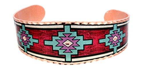 Copper Cuff Wrist Bracelet more Handmade Native American Southwest Hopi Design