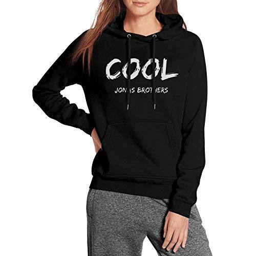 (Long Sleeve Fleece Cool-Jonas-Brothers- Womens Pullover Hoodie Sweater)