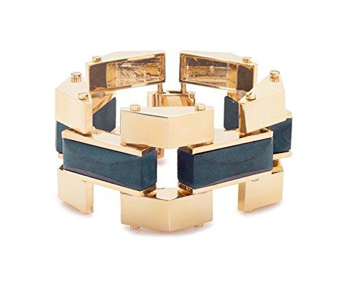 Lele Sadoughi laiton plaqué or Sandbar Starry Night Bracelet