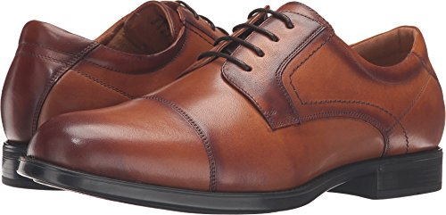 (Florsheim Men's, Midtown Cap Toe Lace up Oxfords Cognac 7.5 3E )