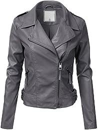 Womens Leather Jackets | Amazon.com