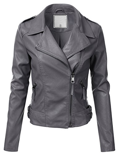 Leather Jackets For Women With Studs - 6