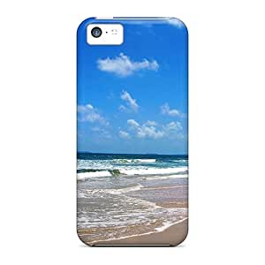 Iphone 5c Hard Back With Bumper Silicone Gel Tpu Case Cover Summer Magic