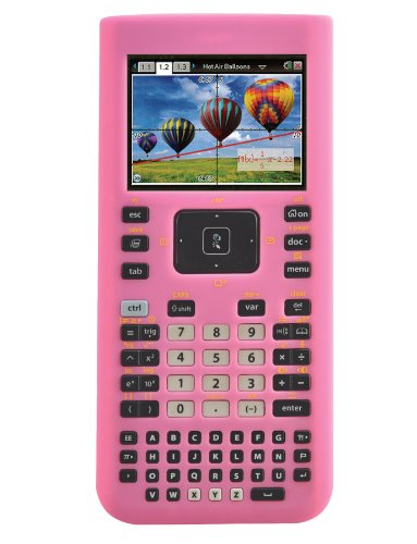 guerrilla-silicone-case-for-texas-instruments-ti-nspire-cx-cx-cas-graphing-calculator-pink