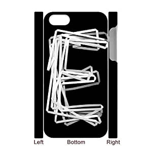 Hjqi - Custom alphabet art 3D Phone Case, alphabet art Customized Case for iPhone 4,4G,4S