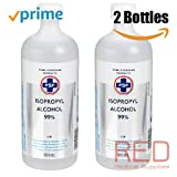 PSP Isopropyl Rubbing Alcohol 99%, 2 Bottles | 500ml