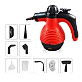 Comforday Handheld Steam Cleaner, Grout Steam Cleaner, Powerful Multi-Purpose Steam Cleaner with 9 Accessories for Stain Removal, Carpets, Curtains, Car Seats, Kitchen Surface & Much More
