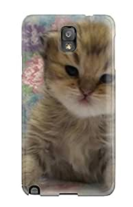 Excellent Galaxy Note 3 Case Tpu Cover Back Skin Protector Teacup Cats
