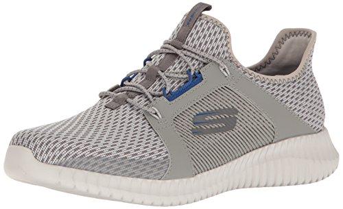 Skechers Elite Flex, Sneaker Infilare Uomo Grey/Blue