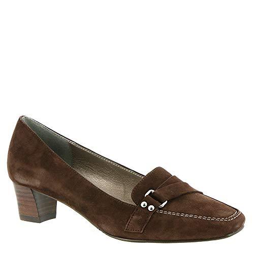 Brown Suede Pumps (ARRAY Darcy Women's Pump 6 B(M) US Brown)
