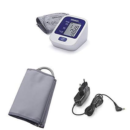 OMRON M2 Basic - Tensiómetro de brazo digital, tecnología Intellisense para dar lecturas de presión