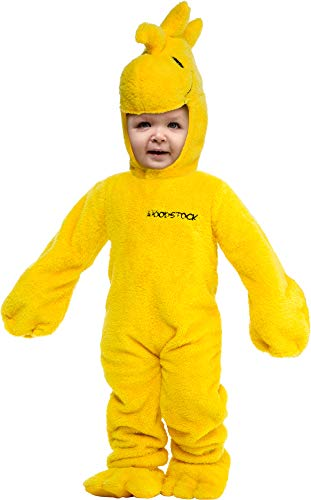 Peanuts Woodstock Super Deluxe Toddler Costume 3T/4T