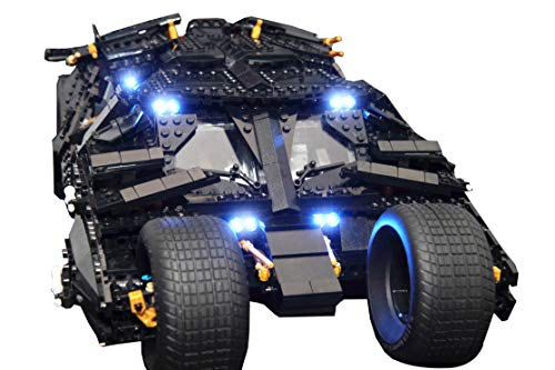 Lighting Kit for YOUR LEGO Batman Tumbler set 76023 by Brick Loot - LEGO SET NOT INCLUDED