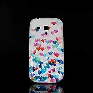 GDW Teléfono Móvil Samsung - Cobertor Posterior - Gráfico - para Samsung S3 Mini I8190N Plástico )